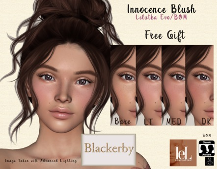Blackerby BOM Innocence Blush Box (Add Me) FREEBIE FREE GIFT