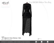 ~Nerido~ Enigma Dress(Maitreya)-Black