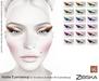 Zibska ~ Abelle Eyemakeup in 18 colors for Lelutka HD
