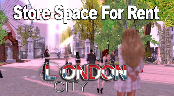 London City Store Space for Rent (Rez or Wear & click)