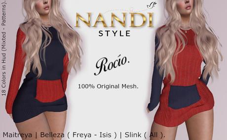 [Nandi Style] - Bag Dress Rocio.