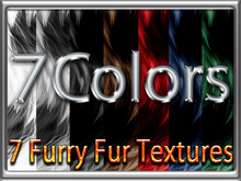 Zoy Texture [ Furry Fur ] Seamless - 7 Colors