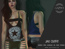 [JUSTICE] JAX OUTFIT - FATPACK - WEAR ME
