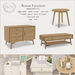 {what next} Rowan Furniture - 3 Pce Set