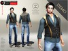 A&D Clothing - DC Outfit -Luka- Blue [Demo]