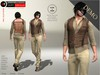 A&D Clothing - DC Outfit -Luka- Brown [Demo]