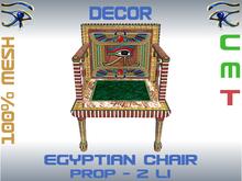DECOR - EGYPTIAN CHAIR