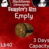 VK Cask V2.2 3 Days Empty