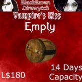 VK Cask V2.2 14 Days Empty
