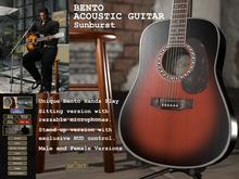 Bento Dreadnought Guitar Sunburst