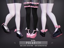 Sweet Thing. Polarity Stockings & Garters