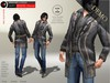 A&D Clothing - DC Outfit -Revolted- Charcoal [Demo]