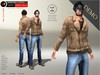 A&D Clothing - DC Outfit -Negan- Brown [Demo]