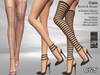 C&S Cara Boots & Shoes for Maitreya Lara, Slink (P, H), Belleza Freya. 40 Textures HUD. Mix & Macht