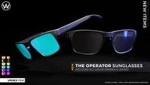 [WAZ] Operator Sunglasses (Fatpack) BOXED [Add/Rezz]