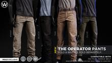 [WAZ] Operator Pants (Fatpack) BOXED [Add/Rezz]