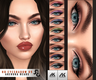 ::SG:: HD9  Eyeshadow for AKERUKA DELUXE HEADS ONLY!