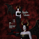 MG - Spider Queen Gown & Wings - Maitreya - Demo only