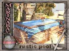 rustic pool
