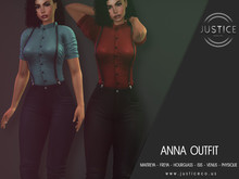 [JUSTICE] ANNA OUTFIT - FATPACK