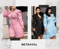 BETRAYAL. Victoria Dress DEMO