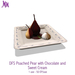 DFS Poached Pear with Chocolate and Sweet Cream