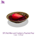 DFS Red Wine and Cranberry Poached Pear