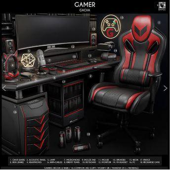 6. BAMSE : Gamer - Amp+cables