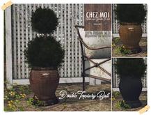 Double Topiary Ball ♥  CHEZ MOI
