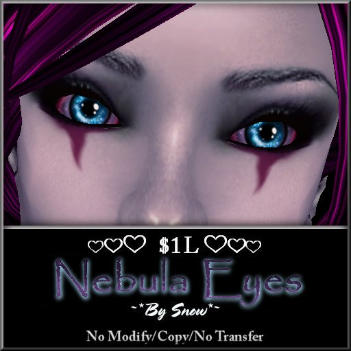 ~*By Snow*~ Nebula Eyes (Dollarbie)