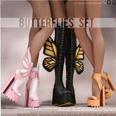[Enchante'] - Butterfly Boots - Maitreya - RARE