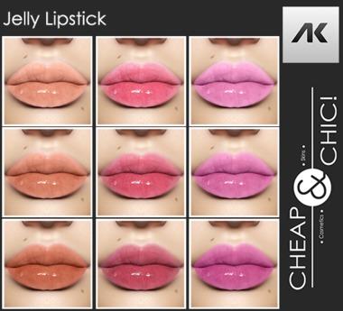 Cheap & Chic! Jelly Lipstick HD - Akeruka