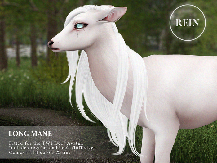 REIN - TWI Deer Long Mane