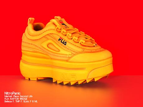 NPV_FLIA RAPTOR WEDGE Yellow