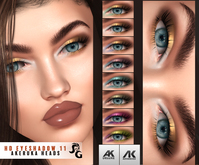 ::SG:: HD11  Eyeshadow for AKERUKA DELUXE HEADS ONLY!