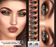 ::SG:: HD12  Eyeshadow for AKERUKA DELUXE HEADS ONLY!