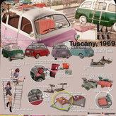 12. KraftWork Tuscany 1969 . Foldable Picnic Table Orange