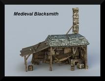Medieval Blacksmith,,,,,,,,