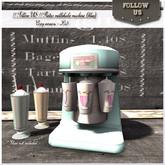 NEW version - Special Price !! Follow US !! Retro milkshake machine (blue) COPY version