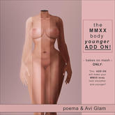 poema & Ag. MMXX - body younger ADD ON! (wear to unpack)