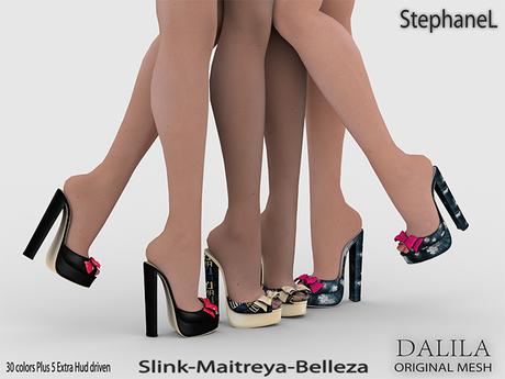GIFT [StephaneL] DALILA SHOES - SLINK-MAITREYA-BELLEZA