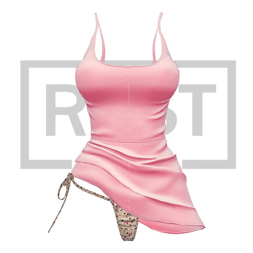 RUST REPUBLIC [Bipolar] dress bpink