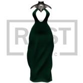 RUST REPUBLIC [union] dress green