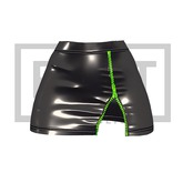 RUST REPUBLIC [BLACKBERRY] skirt black