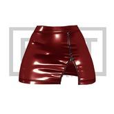 RUST REPUBLIC [BLACKBERRY] skirt red
