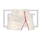 RUST REPUBLIC [BLACKBERRY] skirt white