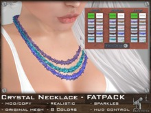 FaceDesk - Natural Crystal Necklace FATPACK