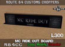 .:OCC:. MC Ride Out Board Box