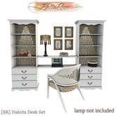 [BR] Dakota Desk Set