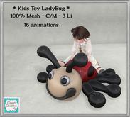 *CC* Kids Toy LadyBug [boxed]